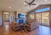 Spacious and Airy Living Room | Lake Tahoe Ski Resort Home