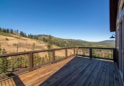 Spacious Deck for Entertaining with Beautiful Views | Tahoe Donner Home