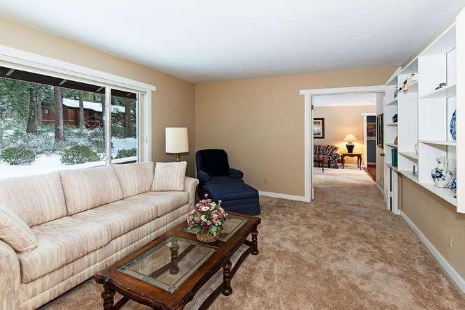 Lake Tahoe Real Estate | 136 Marlette Drive Tahoe City interior view