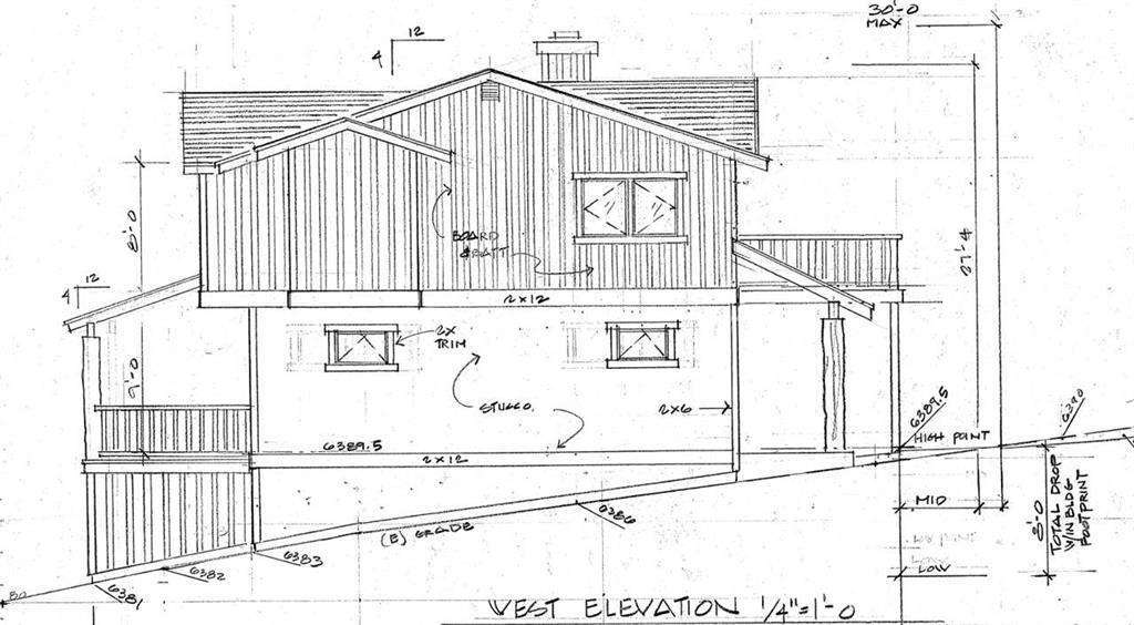 Vacant Land with Plans for house in Alpine Meadows