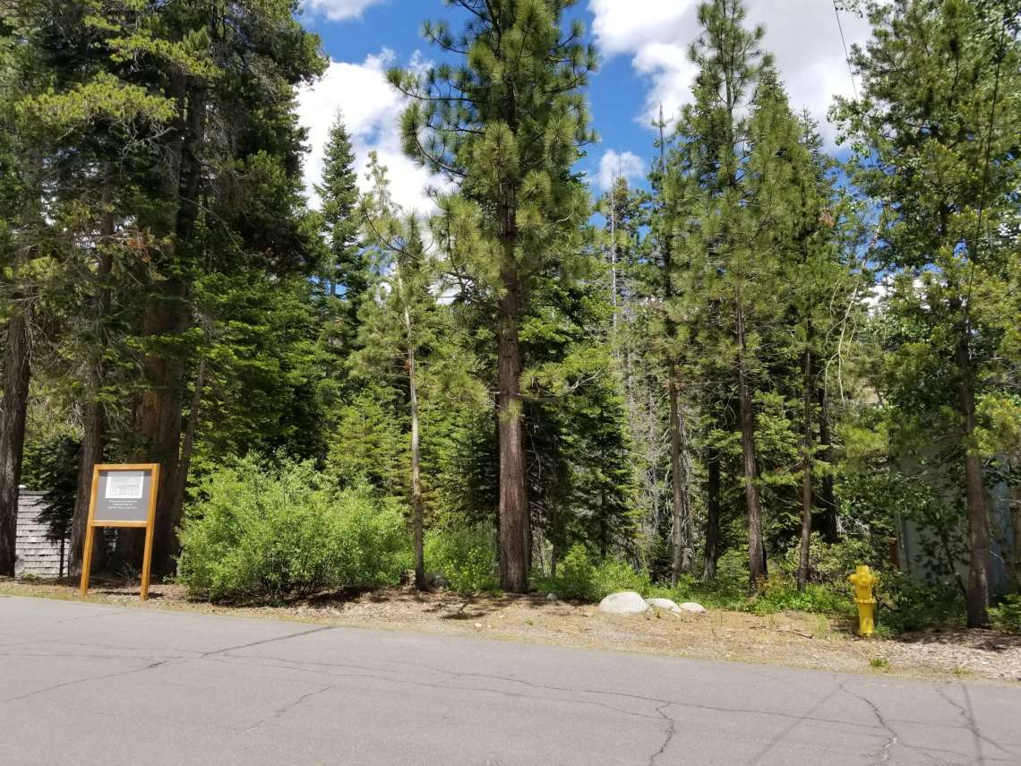 1368 Mineral Spring Trail - Alpine Meadows Land for Sale