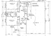 Proposed Plans for 4 bed, 2.5 bath home in Alpine Meadows