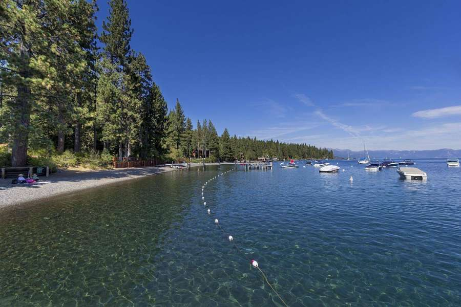 Tahoe Park Beach on the West Shore