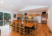200 Hastings Lane | Custom Lake Tahoe Home | Chef's Kitchen and Dining Area