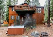 200 Hastings Lane | Custom Lake Tahoe Home | Back of Home