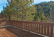 205 Alpine Meadows Rd. #2 | Alpine Meadows Real Estate | Spacious and Sunny Back Deck