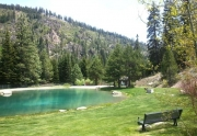 205 Alpine Meadows Rd. #2 | Alpine Meadows Real Estate | Alpine Springs Community Park Pond