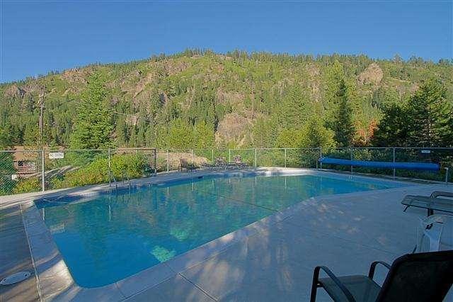 HOA Pool with Views of Thunder Ridge