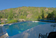 HOA Pool with Views of Thunder Ridge