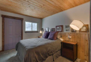 Guest Bedroom 2 | Remodeled Alpine Meadows Townhouse For Sale