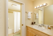 Guest Bathroom | Alpine Meadows Condo For Sale