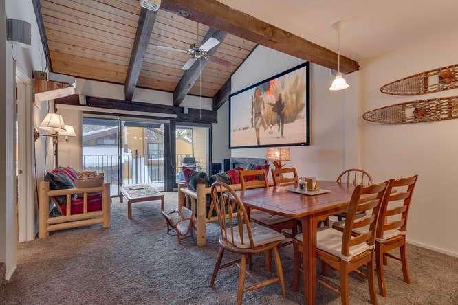 Alpine Meadows Condo for Sale | 2201 Scott Peak Pl 38 | Living/Dining Room