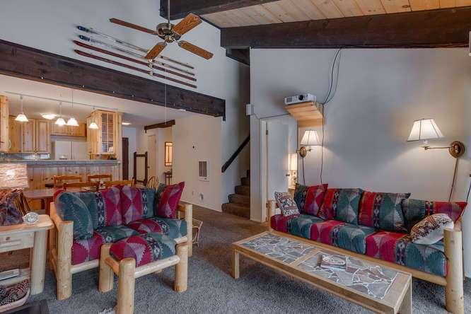 Alpine Meadows Real Estate | 2201 Scott Peak Pl 38 | Living Room