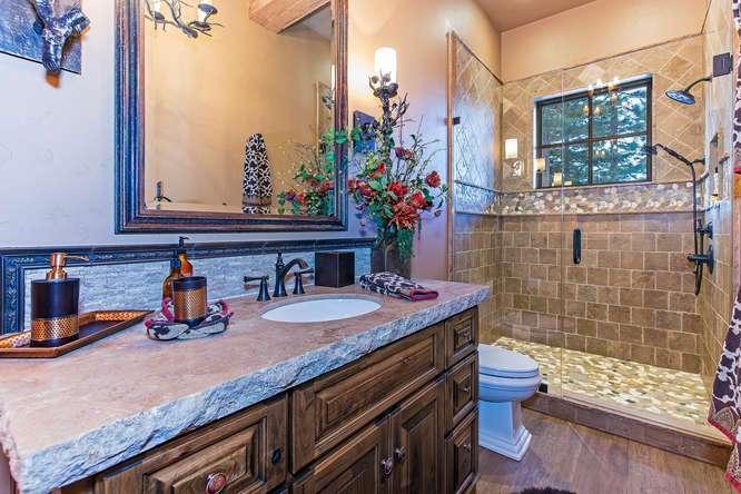 Guest Bathroom | Lake Tahoe Luxury Real Estate