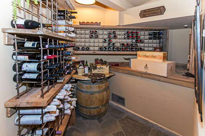 Wine Cellar | Northstar Luxury Home For Sale