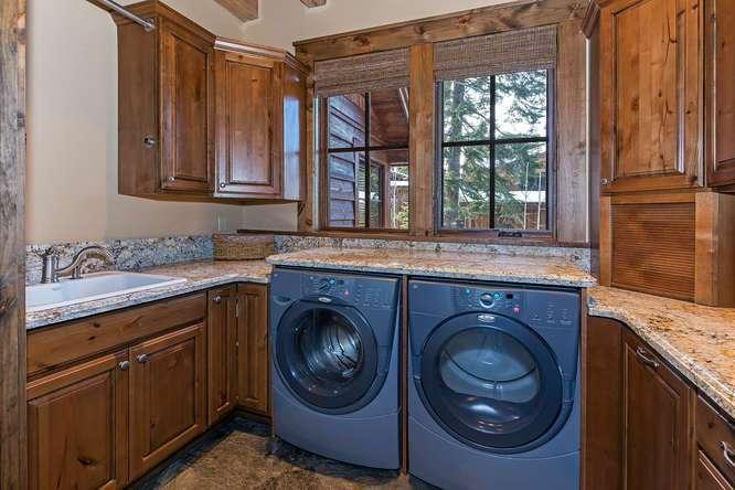 Laundry Room | Tahoe Luxury Ski Home