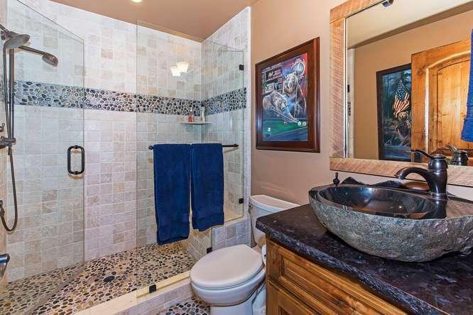 Saloon Bathroom | Luxury Ski Real Estate