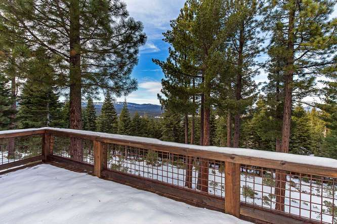 Views of the Sierra Crest and Martis Valley | Lake Tahoe Real Estate