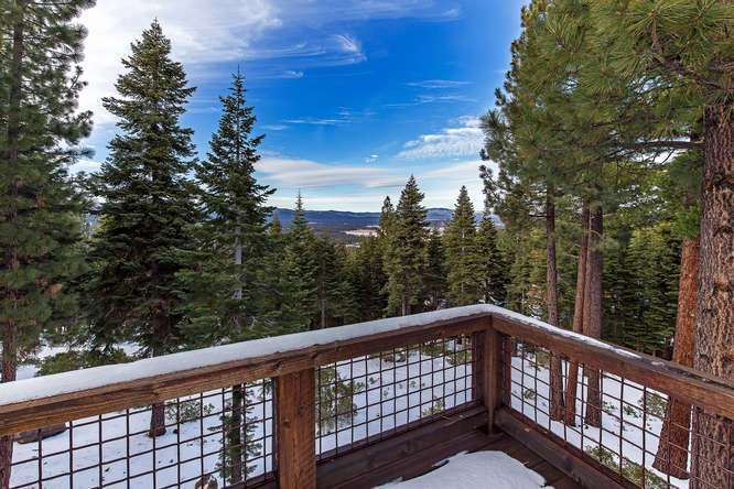 Views of the Sierra Crest and Martis Valley | Northstar Luxury Home