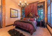 Guest Bedroom with en suite bathroom   Northstar Real Estate