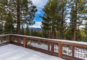 Views of the Sierra Crest and Martis Valley   Lake Tahoe Real Estate