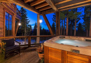 Hot Tub featuring beautiful views   Real Estate Truckee CA