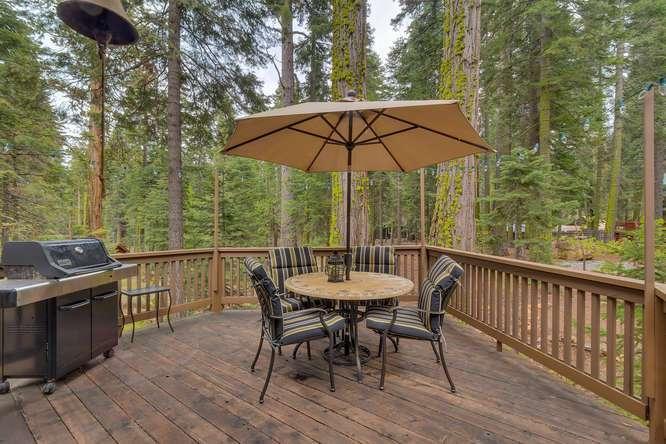Lake Tahoe Real Estate | 2565 Cedar Ln Homewood CA | Patio