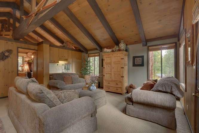 West Shore Real Estate | 2565 Cedar Ln Homewood CA | Living Room