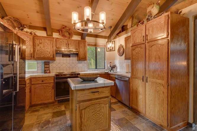 Lake Tahoe Cabin | 2565 Cedar Ln Homewood CA | Kitchen