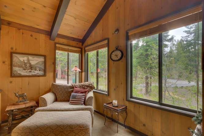 Lake Tahoe Real Estate | 2565 Cedar Ln Homewood CA | Family Room