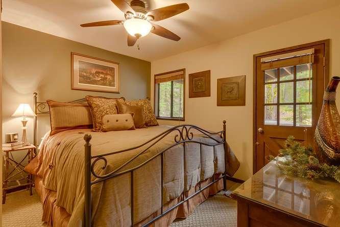 Cabin for Sale Lake Tahoe | 2565 Cedar Ln Homewood CA | Master Bedroom Ensuite
