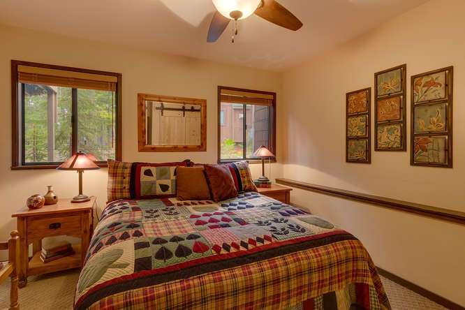 West Shore Cabin for Sale | 2565 Cedar Ln Homewood CA | Bedroom