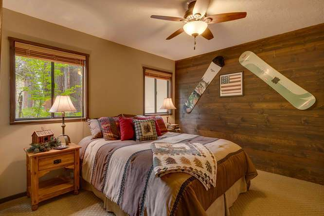 West Shore Real Estate | 2565 Cedar Ln Homewood CA | Bedroom