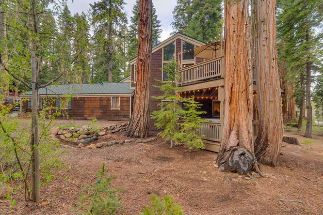 West Shore Home for Sale | 2565 Cedar Ln Homewood CA | Side Exterior