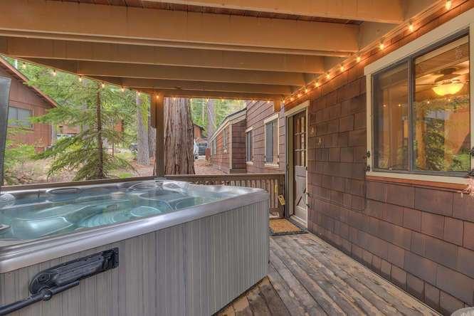 Homewood Home for Sale | 2565 Cedar Ln Homewood CA | Hot Tub