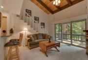Lake Tahoe Condo | 2755 N Lake Blvd - Living Room