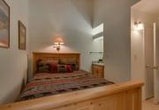 Tahoe City Condo | 2755 N Lake Blvd - Bedroom
