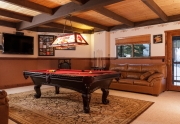 Recreation Room | Tahoe City Luxury Homes
