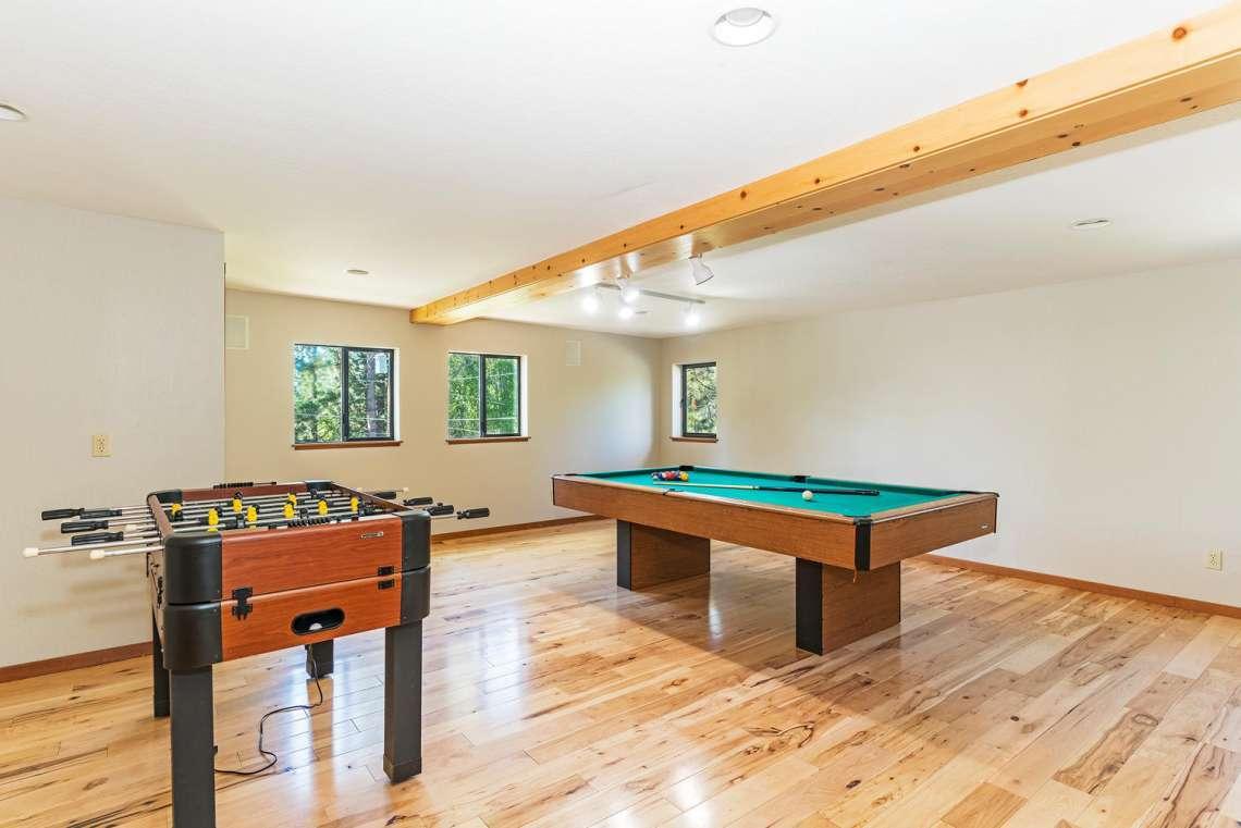 Lake Tahoe Real Estate | 3145 Meadowbrook Dr | Gameroom