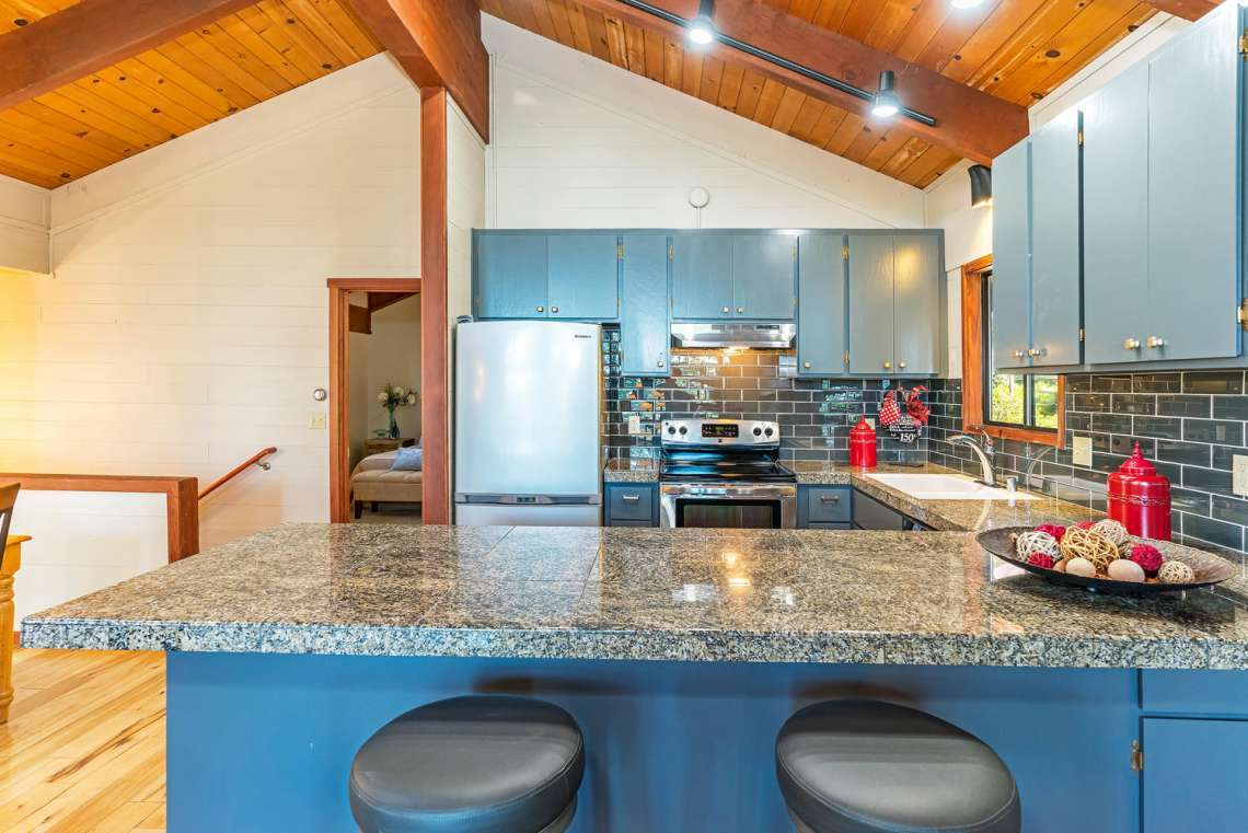 Tahoe City  Home for Sale | 3145 Meadowbrook Dr | Kitchen Marble Counter