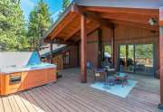 Lake Tahoe Home | 3145 Meadowbrook Dr | Covered Deck View