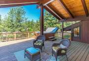 Tahoe City  Home for Sale | 3145 Meadowbrook Dr | Covered Deck View