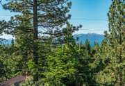 Tahoe Lakeview Real Estate | 3145 Meadowbrook Dr | View through trees
