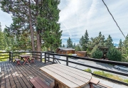 Sunny and Spacious Deck with Views of Tahoe