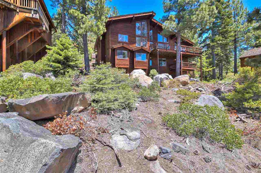 Tahoe City Real Estate | 3324 Dardanelles Ave | Exterior View of House