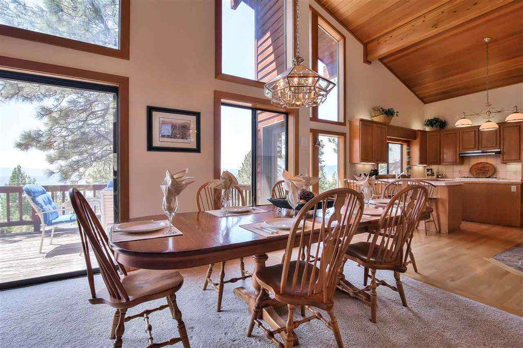 Lake Tahoe Luxury Real Estate | 3324 Dardanelles Ave | Dining Area