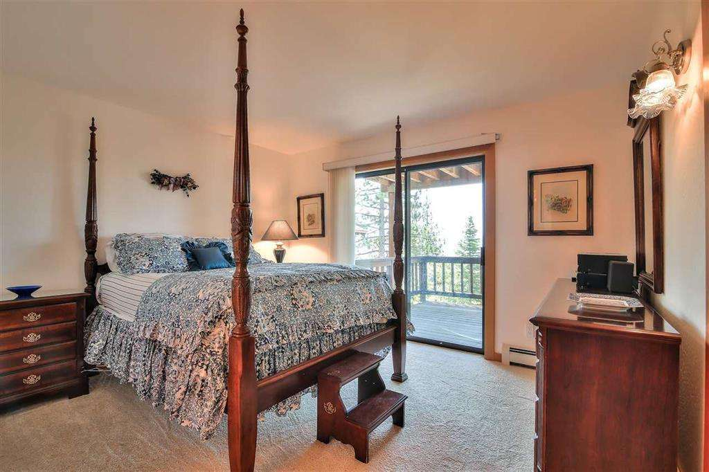 Tahoe City Real Estate | 3324 Dardanelles Ave | Bedroom