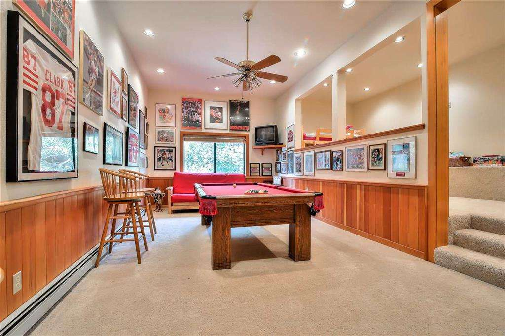 Lake Tahoe Real Estate | 3324 Dardanelles Ave | Game Room