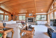 Dollar Point Lake Tahoe Home   3324 Dardanelles Ave   Living Area