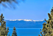 North Lake Tahoe Real Estate | 3324 Dardanelles Ave | Deck with Lake Tahoe View